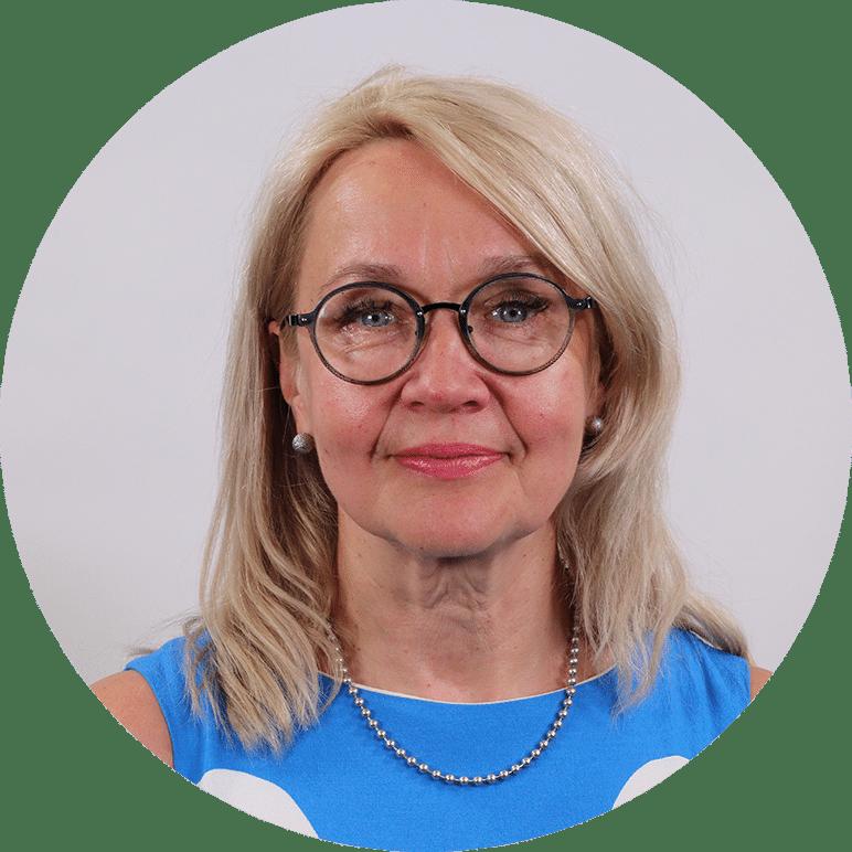 Kehityspäällikkö, Tarja Tuomainen.
